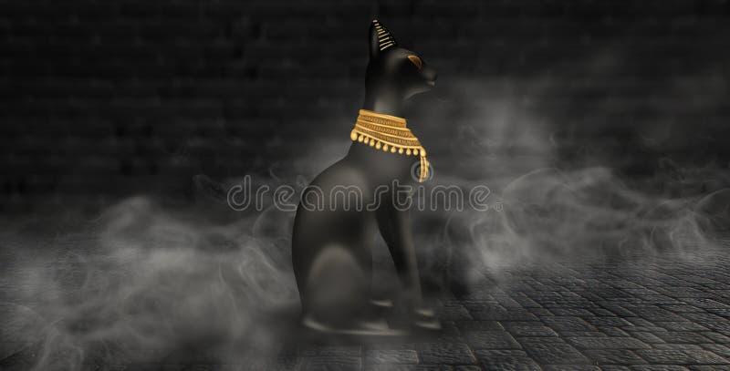 Ägyptischer asbstract Hintergrund lizenzfreie abbildung