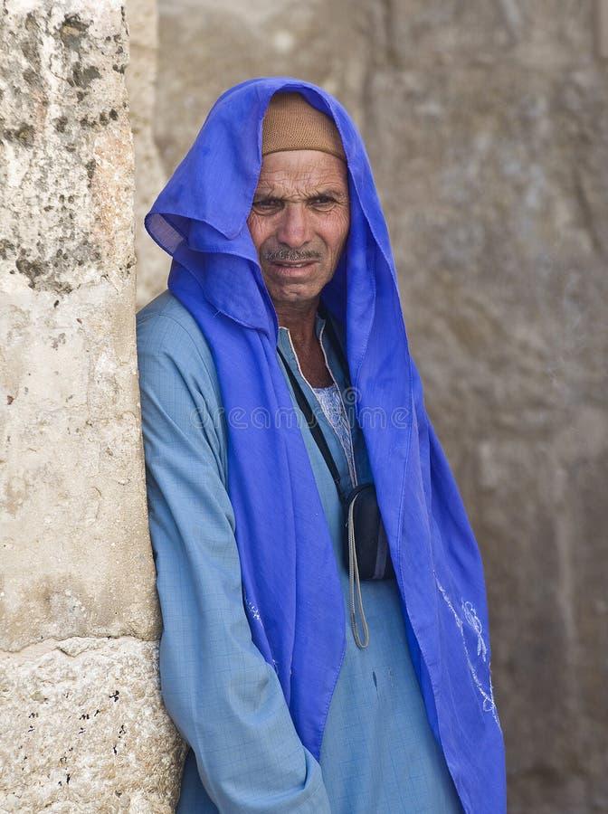Ägyptischer Kopte lizenzfreie stockfotografie