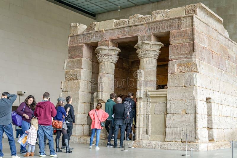 Ägyptischer Tempel am Stadtmuseum lizenzfreie stockfotos