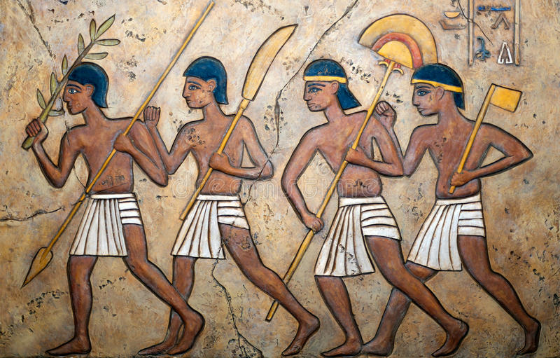 Ägyptisches Kunstprodukt lizenzfreie stockfotografie