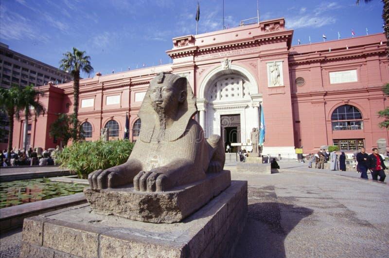 Ägyptisches Museum, Kairo stockbild