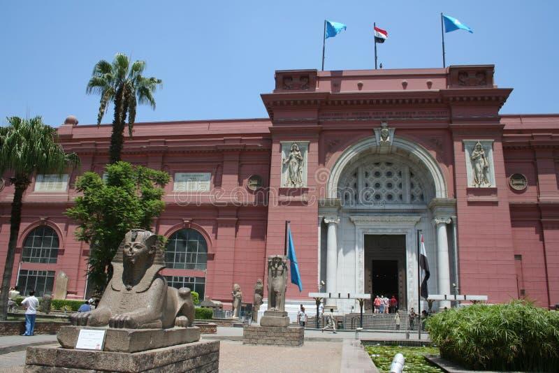 Ägyptisches Museum in Kairo lizenzfreie stockbilder