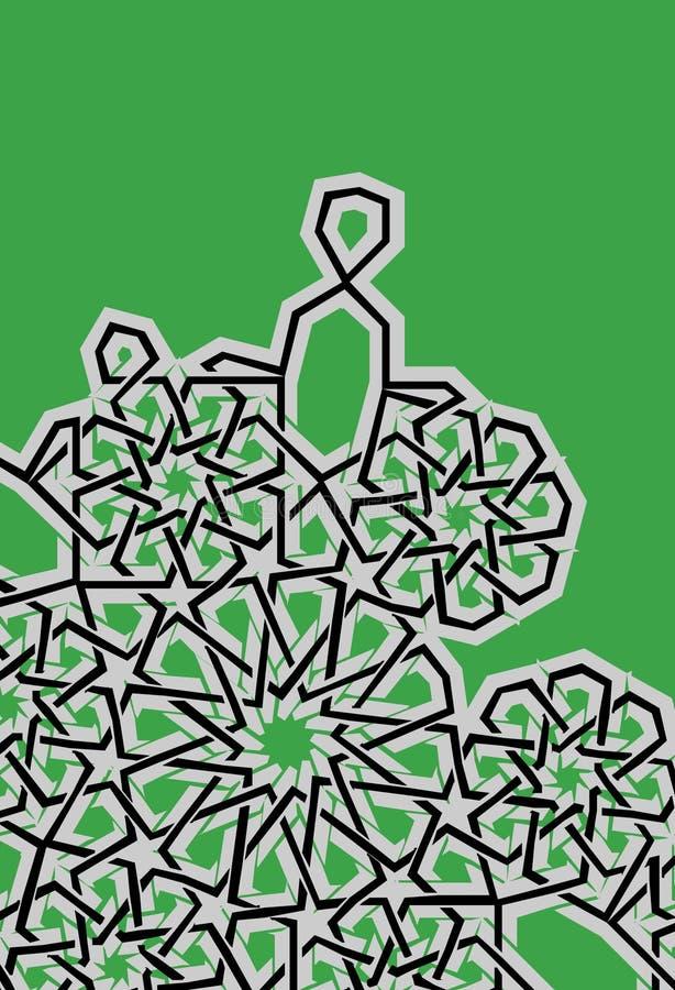 Ägyptisches Muster lizenzfreie abbildung