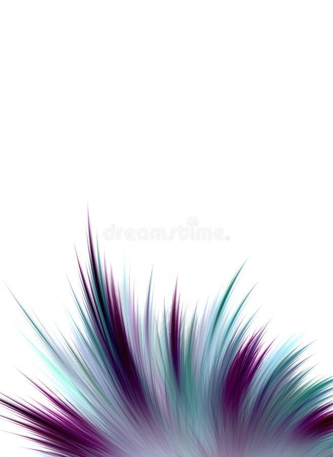Ährentragender abstrakter Hintergrund vektor abbildung