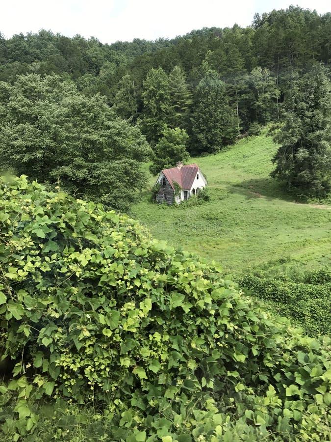 Äldst hus i länet arkivbilder