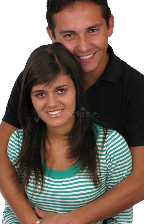 älska barn för par royaltyfri foto