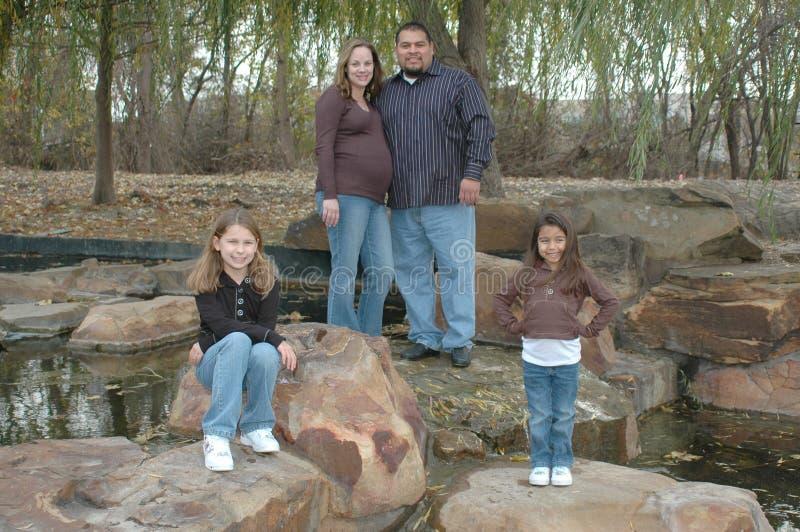 älska för familj royaltyfri bild