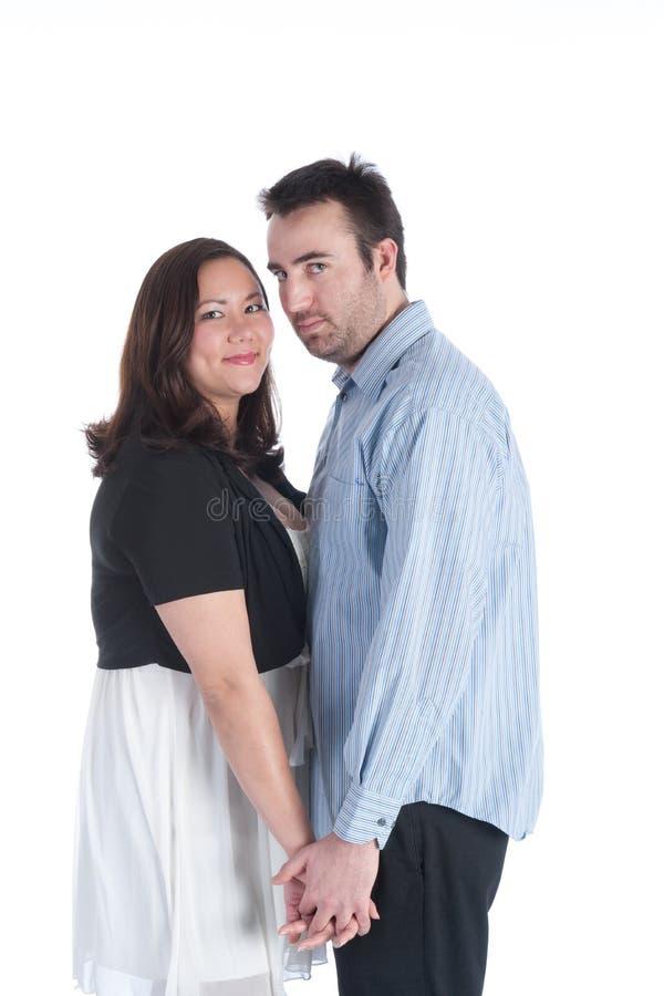 älska för par royaltyfria foton