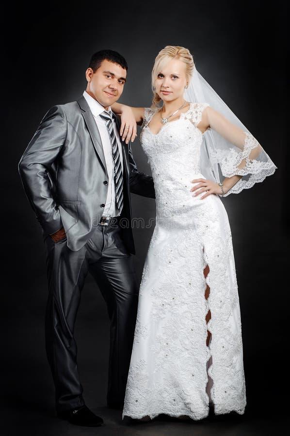 Älska nygift person fotografering för bildbyråer