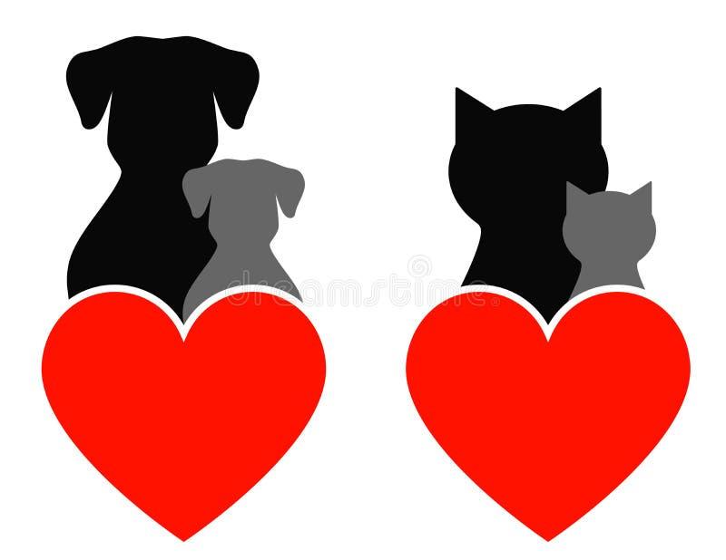 Älsklings- tecken stock illustrationer