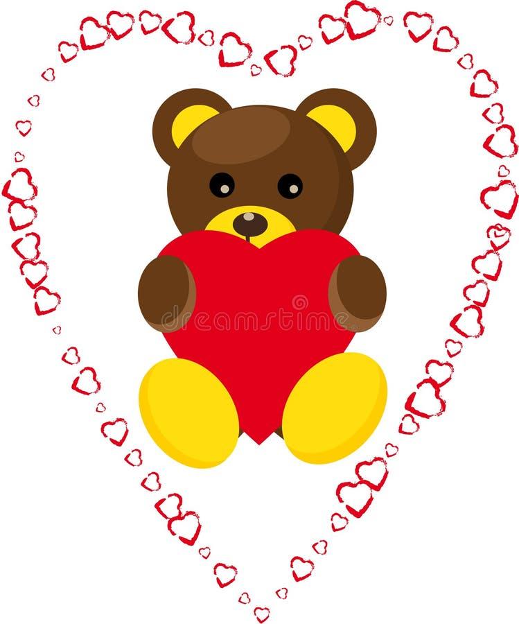 älskvärd björn arkivfoton