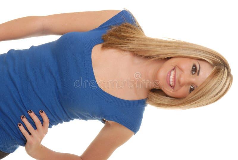 älskvärd blond flicka 51 royaltyfria foton