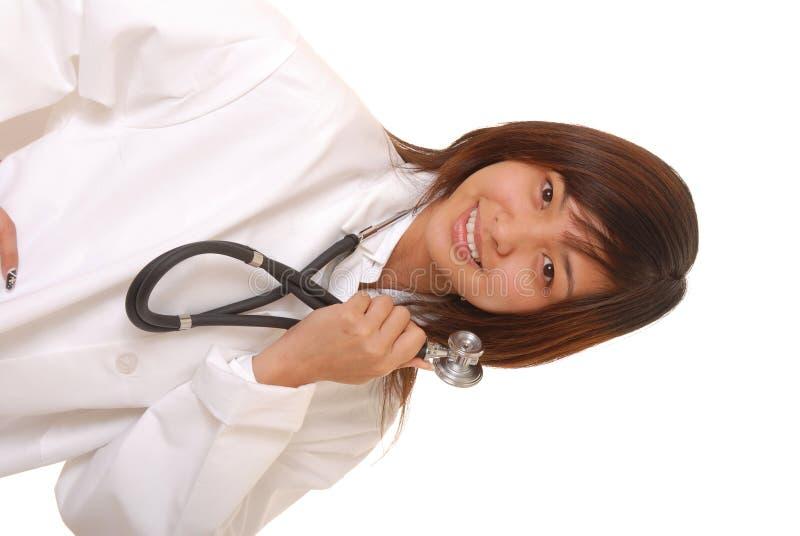 älskvärd doktor royaltyfri bild