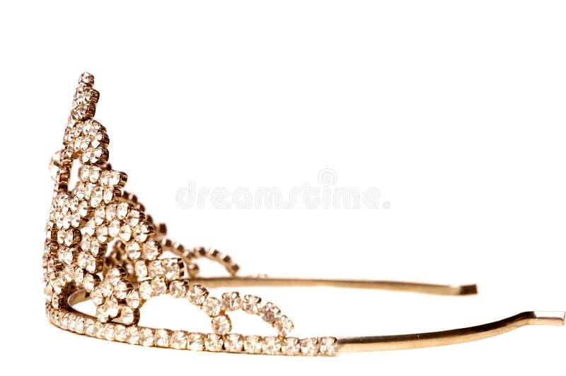 Älskvärd krona för en härlig flicka 2 royaltyfri foto