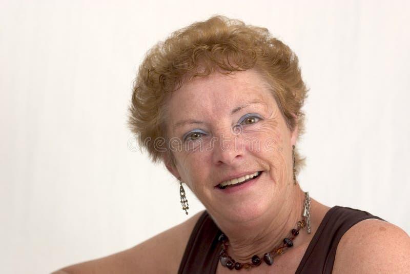 älskvärd kvinna för leende 2 arkivbilder