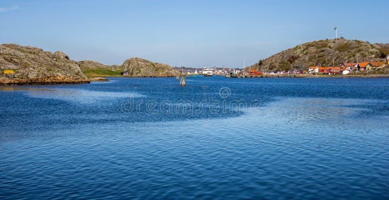 Älskvärda öar med den härliga naturen - Göteborg, Sverige royaltyfria bilder