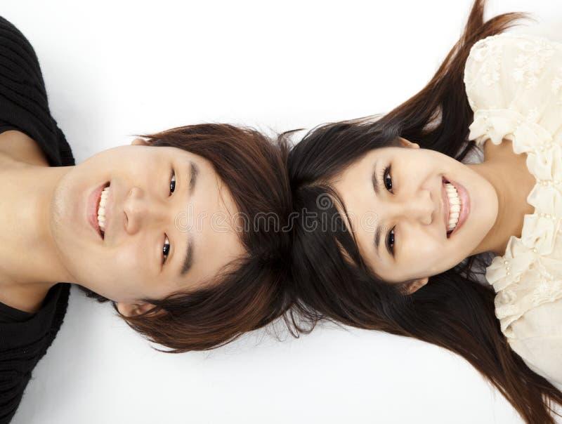 älskvärt barn för par fotografering för bildbyråer