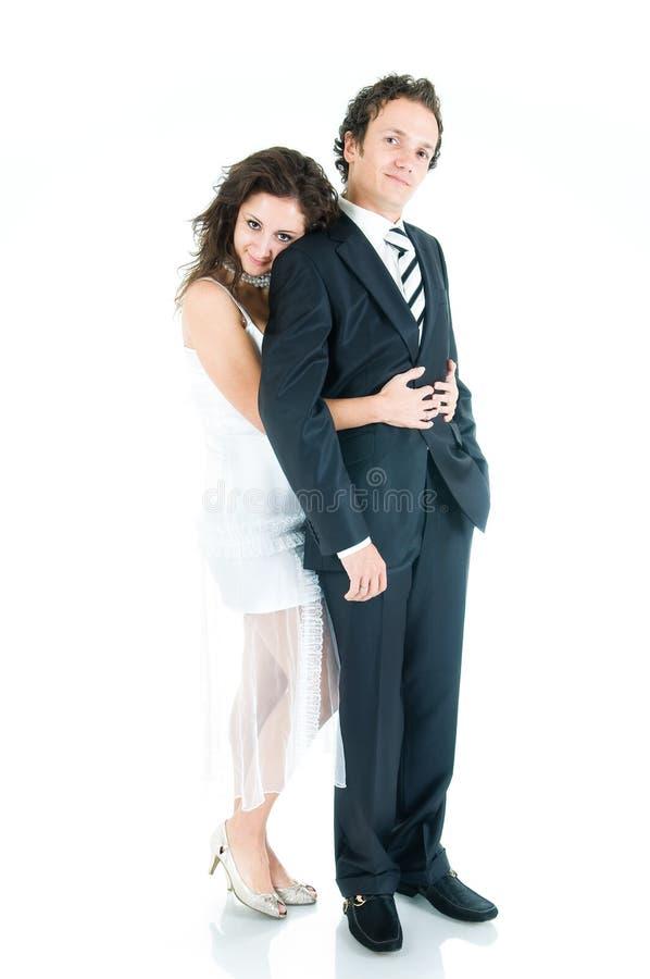 älskvärt barn för par royaltyfri fotografi
