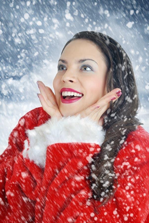 älskvärt mitt för jul fotografering för bildbyråer
