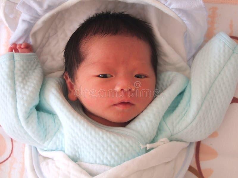 älskvärt spädbarn royaltyfri fotografi
