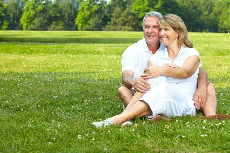 Ältere Älterpaare stockbilder