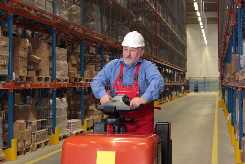 Ältere Arbeitskraft stockfotos