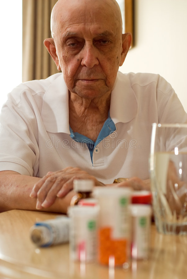 Ältere Drogen lizenzfreie stockbilder