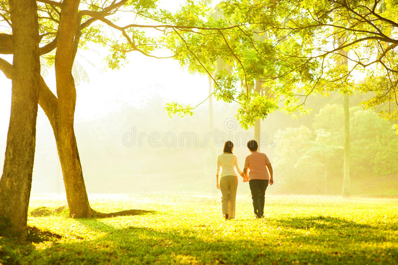 Ältere Gesundheitspflege lizenzfreies stockfoto
