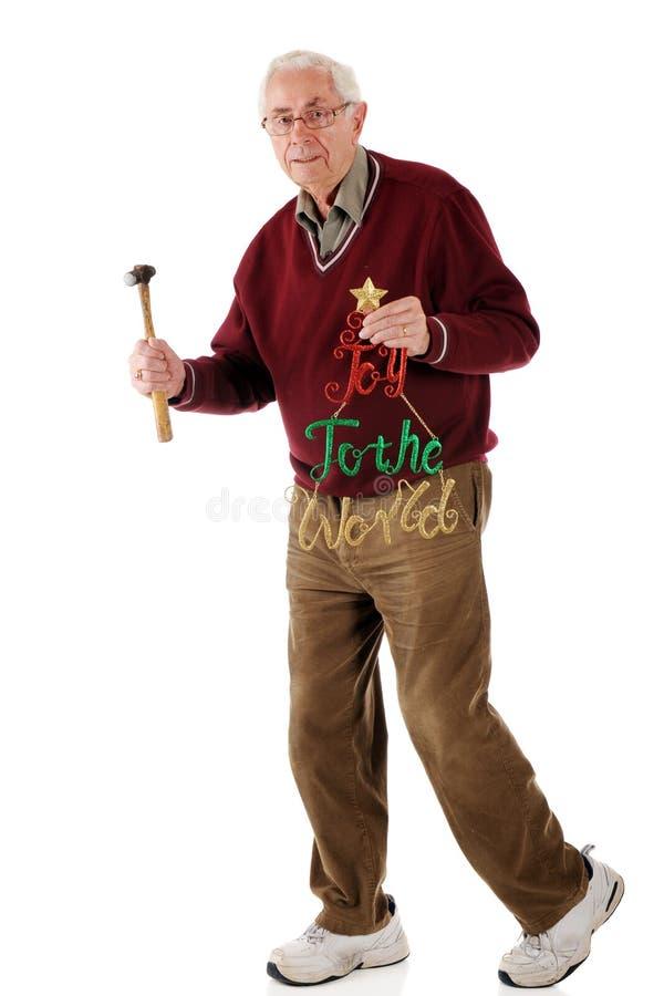 Ältere Holende Freude Stockfoto