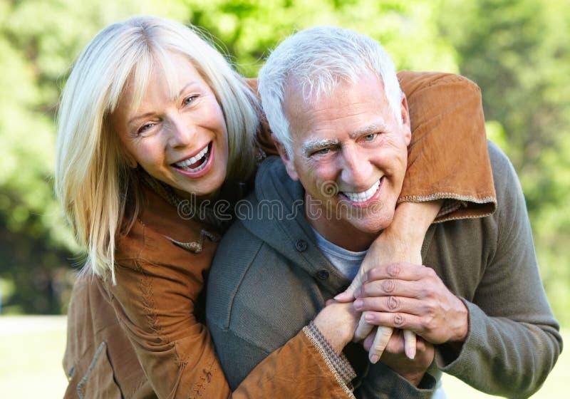 Ältere Paare. stockfoto