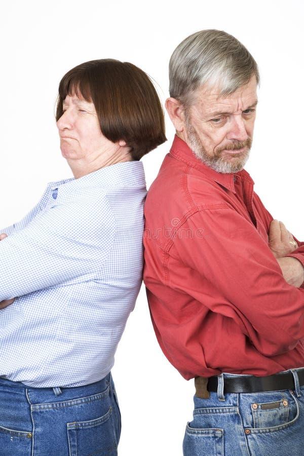 Ältere Paare 4 stockbild