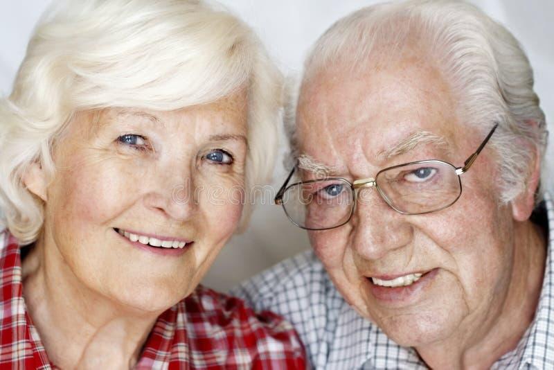 Ältere Paare stockbild