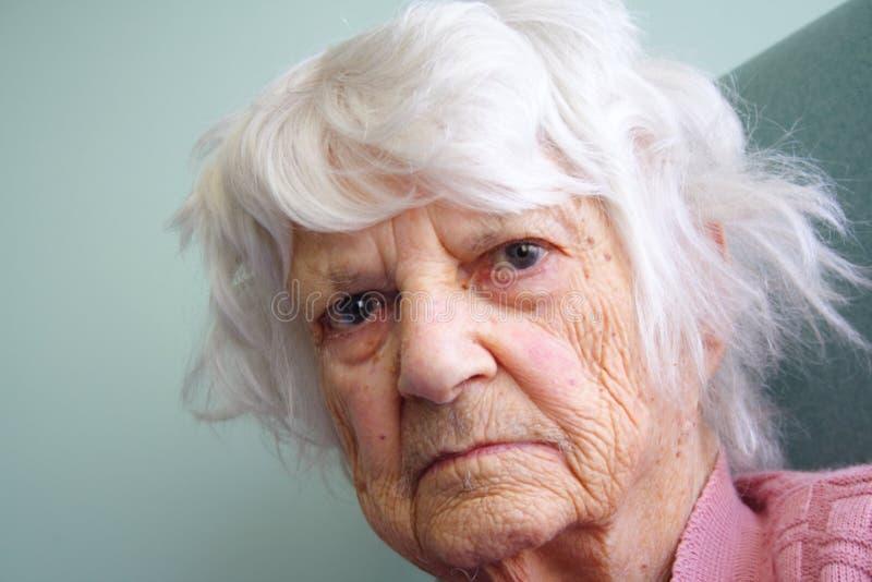 Älterer Bürger lizenzfreies stockfoto