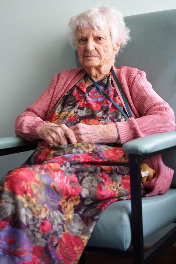 Älterer Bürger lizenzfreies stockbild