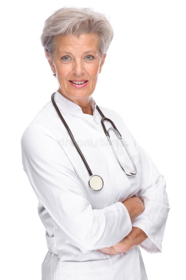 Älterer Doktor lizenzfreies stockbild