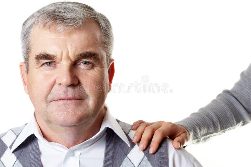 Älterer Ehemann stockfoto