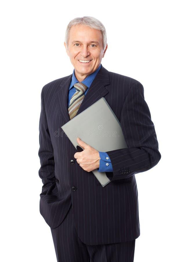 Älterer Geschäftsmann lizenzfreies stockbild
