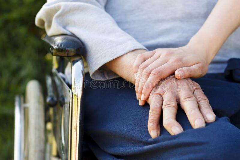 Älterer Lebensstil stockbild