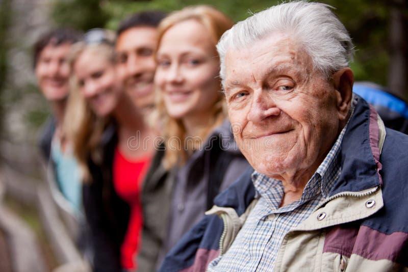 Älterer Mann stockbilder
