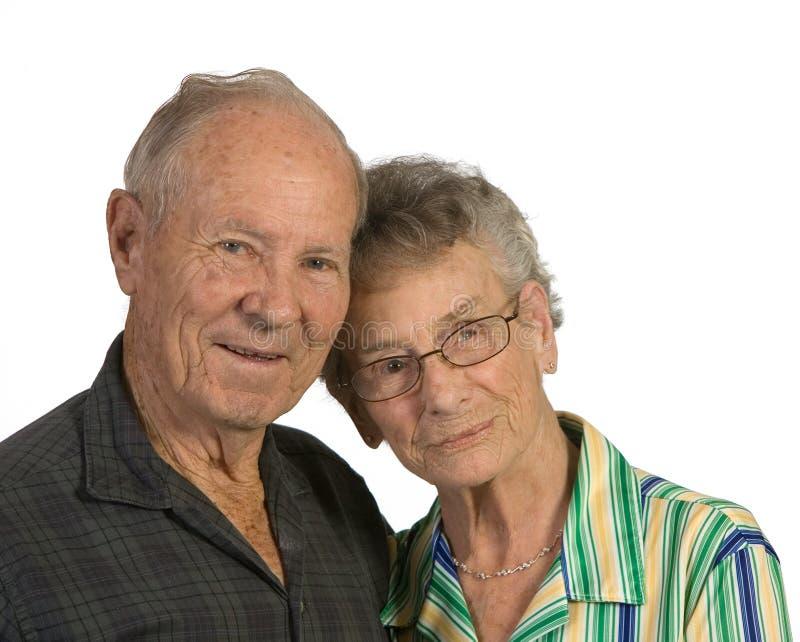 Älterer Mann und Frau stockbilder