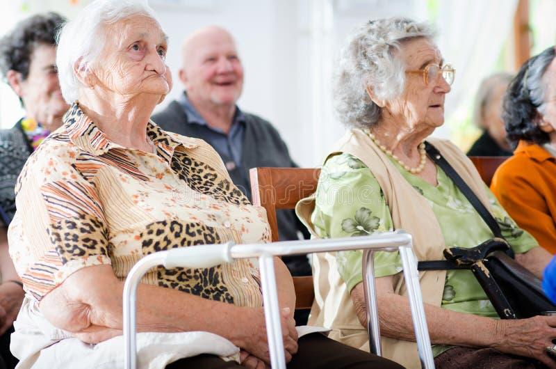 Älterer Mann und Frau lizenzfreies stockbild