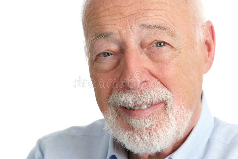 Älterer Mann - vertrauend lizenzfreies stockfoto