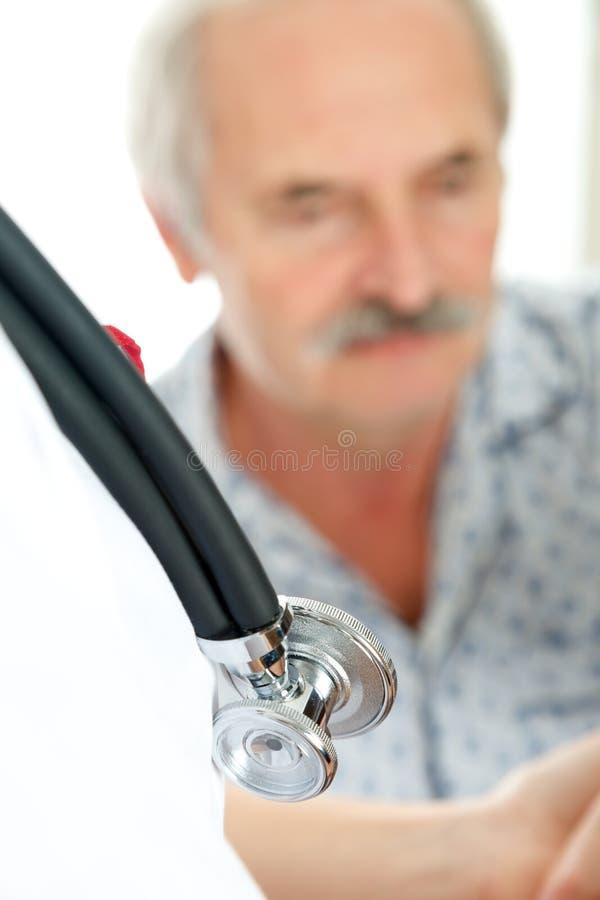 Älteres Gesundheitswesen lizenzfreies stockbild