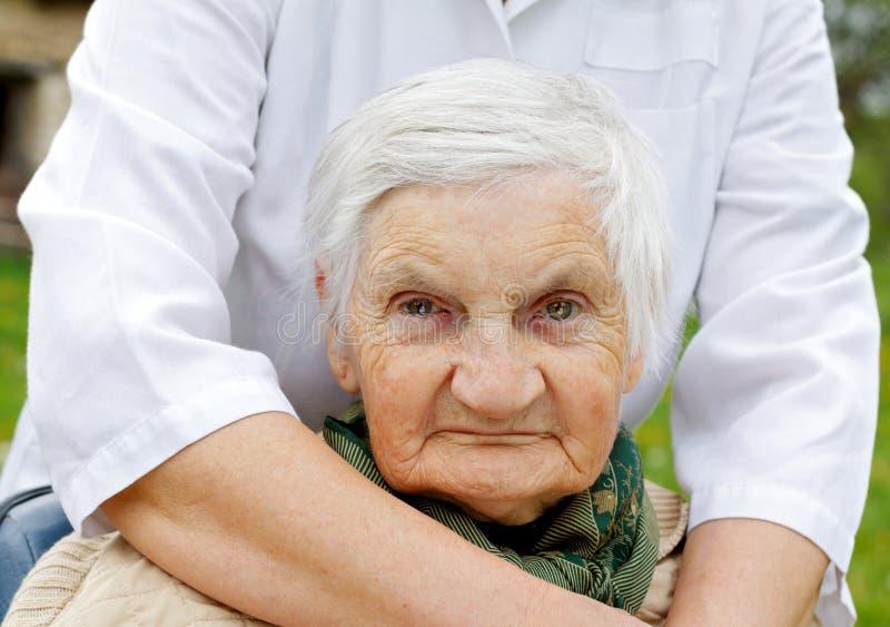 Älteres Leben lizenzfreies stockbild