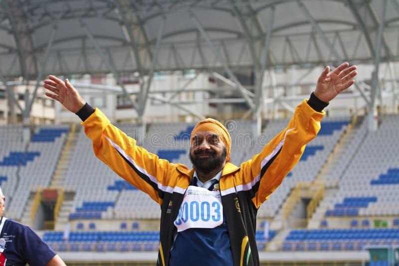 Download Älteres Leichtathletikspiel Redaktionelles Stockfotografie - Bild von kurs, herausforderung: 27727117