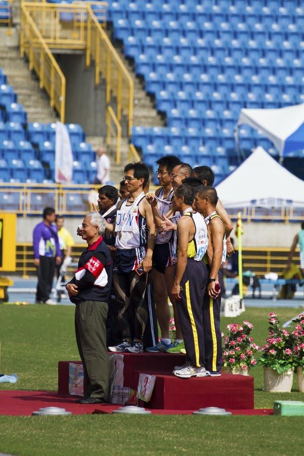 Download Älteres Leichtathletikspiel Redaktionelles Bild - Bild von medaille, herausforderung: 27730480