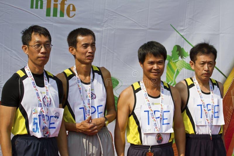 Download Älteres Leichtathletikspiel Redaktionelles Stockfotografie - Bild von mann, ermittlung: 27730607