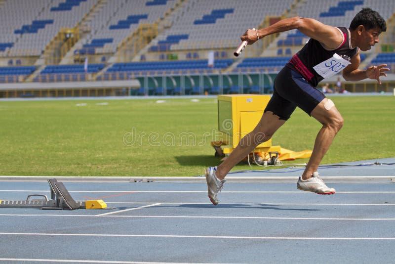 Download Älteres Leichtathletikspiel Redaktionelles Stockbild - Bild von field, ältestes: 27731364
