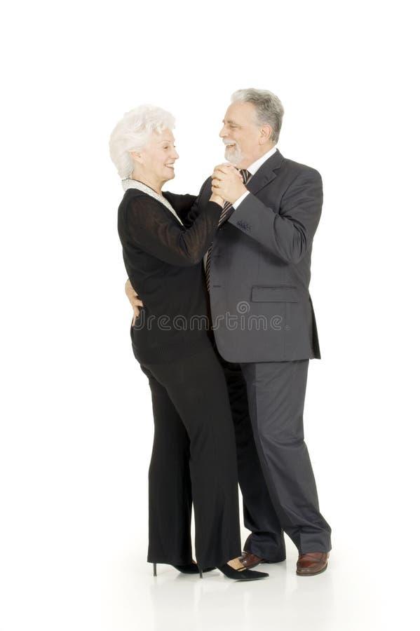 Älteres Paartanzen stockbilder