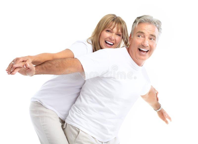 Älterpaare stockfotografie